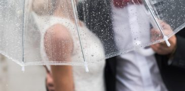 How To Make Sure Your Rainy Wedding Day Stays Perfect